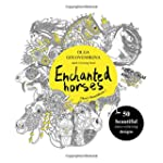 Enchanted horses: Adult Coloring Book