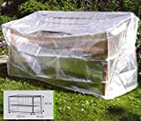 Schutzhülle Gartenbank Abdeckung Haube Schutzhaube ca. 160 x 75 x 80 (H) cm