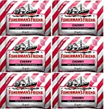 Fishermans Friend Cherry Menthol Lozenges 25g x 12 Packs by Fishermans Friend