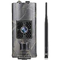 SUNTEKCAM 3G Caméra de Chasse 20MP 1080P Avec transmission par réseau cellulaire avec Vision Nocturne, Etanchéité IP66…