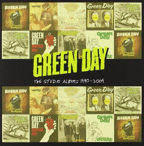 The Studio Albums 1990-2009 By Green Day (2012-08-27)
