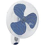 Bestron Ventilateur mural avec télécommande Blanc