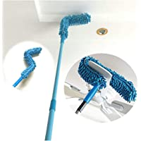 SKYTONE Foldable Microfiber Fan Cleaning Duster Flexible Fan mop for Quick and Easy Cleaning of Home, Kitchen, Car…