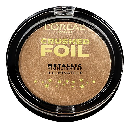 L'Oréal Paris Highlighter Infaillible Crushed Foil 20 Gilded Gold, 5.1 - Gold-gesichts-edelsteine