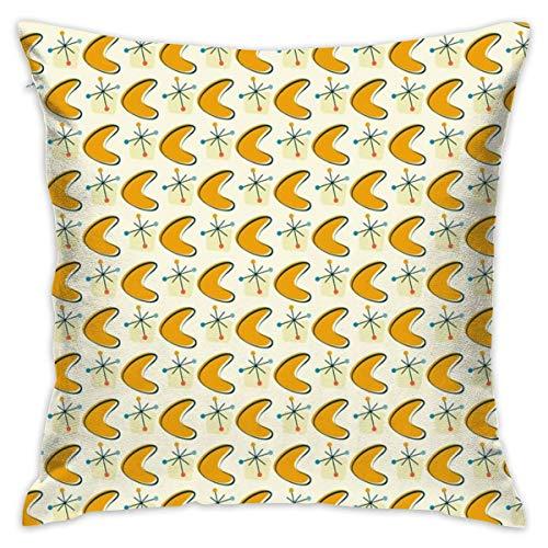 """tiao9143 Kissen werfen,Zierkissenbezüge,Atomic Boomerang Pillow Cover 18\""""X18\""""Pillow Case Cushion for Sofa Decorative"""