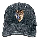 Doormat bag Cool Wolf Head Unisex Cowboy Trucker Cap with Adjustable Baseball Style Hats