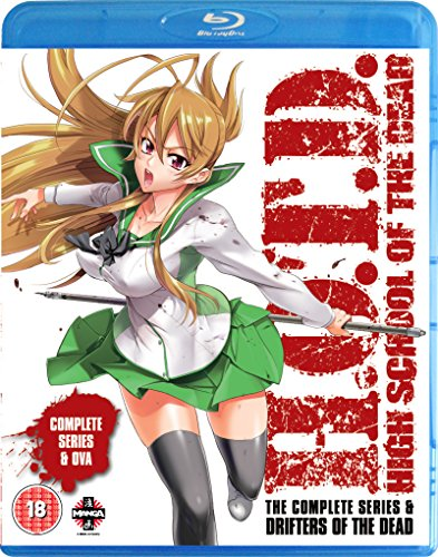 High School of the Dead: The Complete Series (Drifters of the Dead Edition) (Blu-ray + DVD) [UK Import] (Of School High Dead)
