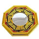 Feng Shui Bagua konvexe Spiegel Pakua W, mit rotem mxsabrina Armband SKU: j2347