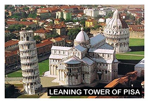 Pisa Tower (Kühlschrankmagnet - Souvenir - LEANING TOWER OF PISA ITALY 9cm x 6cm Jumbo)