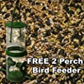 Wild Bird Food Feed + Free Feeder High Energy All Season Low Mess Mix | 500g - 20kg from Elixir