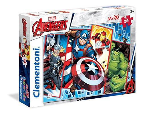 Clementoni 24495The Avengers-Máxima de Puzzle, 24Piezas