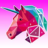 Poly Art Coloring Book Color with Number Puzzle Game
