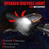 LED Fahrradlichter set , Aly Wiederaufladbare licht fahrrad led beleuchtung fahrrad Für Laufen, Joggen, Wandern, Camping, mit Hund spazieren gehen, Fahrrad fahren, Reifen wechseln und andere Familienaktivitäten in der Nacht.