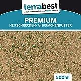 Heuschrecken & Heimchen Futter Insektenfutter Heimchenfutter, Heuschreckenfutter (EUR 5,98 / L)