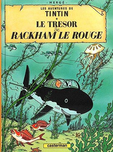 Les Aventures de Tintin, Tome 12 : Le trésor de Rackham le Rouge : Mini-album par Herge
