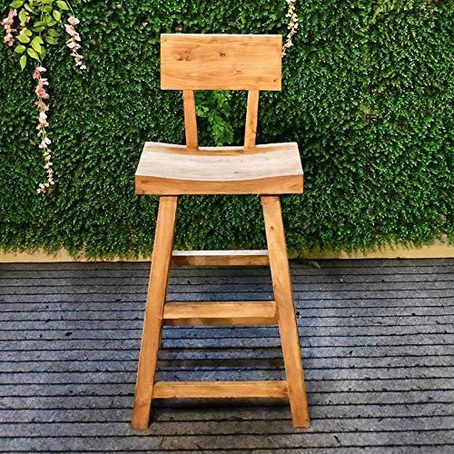 Log Bar (Möbel Mann Couchtisch Und Stuhl Esstisch Cafe High Bar Stuhl Vintage Holz Made Old Log Bar Chair)