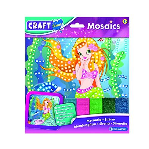 Craft Tiempo mosaicos Grande, diseño de Sirena