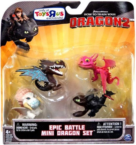 HOW TO TRAIN YOUR DRAGONS EPIC BATTLE MINI DRAGONS SET (Epic Battle Dragon)