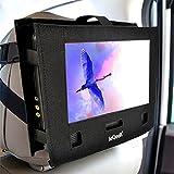 ieGeek Auto Kopfstütze Halterung Halter Bügel Kasten für tragbare DVD-Player -11 Zoll oder 12,5 Zoll