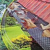 Lifetime Garden 2029966canelones rejilla de protección Color Verde Oscuro 6m x 17,5cm, con clips de montaje