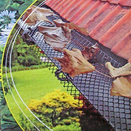 lifetime-garden-2029966grille-de-protection-pour-gouttire-vert-fonc-6m-x-175cm-avec-clips-de-fixatio