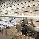 murando – Papier peint intissé 300x210 cm – Papier peint – Trompe l oeil – Tableaux muraux déco XXL – bois textures f-A-0450-a-b