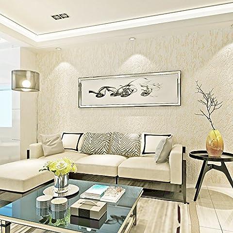 3D Stereo Wallpaper Mottle Texture Diatomite Nai Flocking Non-Woven For Living Room Bedroom Restaurant Walkways ,8111