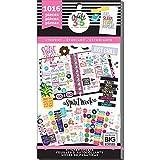 Me & My Big Ideas Happy Planner Autocollants en Vinyle, pour Organiseur/Agenda d'étudiant, Multicolore, 23,11x 12,06x 0,94cm (français Non Garanti)