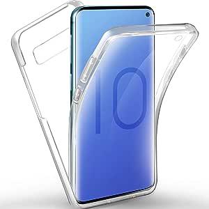 Aroyi Samsung Galaxy S10 Case 360 Degree Silicone Full Elektronik