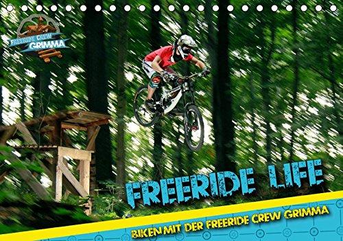 Freeride Life (Tischkalender 2019 DIN A5 quer): Biken mit der Freeride Crew Grimma (Monatskalender, 14 Seiten ) (CALVENDO Sport)