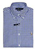 Ralph Lauren Herren Hemd - Slim Fit - Stretch Oxford - Check Royal Blue - Gr.XXL