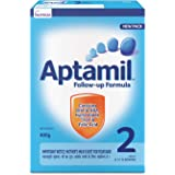 Nutricia's Aptamil 2 Follow up Infant Formula Powder (After 6 months), Stage 2-400g Bag-In-Box Pack