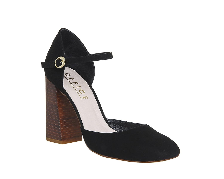 1b47f76d9fad Office Nibbles Mary Jane Block Heels  Amazon.co.uk  Shoes   Bags