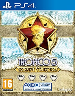 Tropico 5 - Complete Collection (PS4) (B01H39NXPE) | Amazon price tracker / tracking, Amazon price history charts, Amazon price watches, Amazon price drop alerts