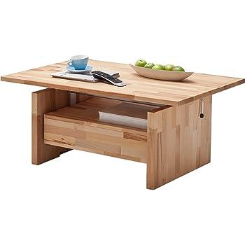 couchtisch mit liftfunktion wohnzimmertisch couchtisch tisch massivholz titus. Black Bedroom Furniture Sets. Home Design Ideas