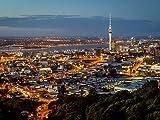 Auckland Skyline 1000 Teile Puzzle Quer