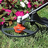 Pinkdose Lawn Trimmer Power Tools Electric Mower Head Exquisite Steel Combo Lawn Mower