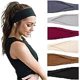 TERSE Haarbanden Dames Hoofdbanden Vrouwen Elastische Workout Hoofdband Sport Yoga Haaraccessoires Haarbanden Set