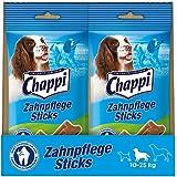 Chappi Zahnpflege Sticks für mittelgroße Hunde, 10 Packungen je 7 Stück (10 x 175 g)