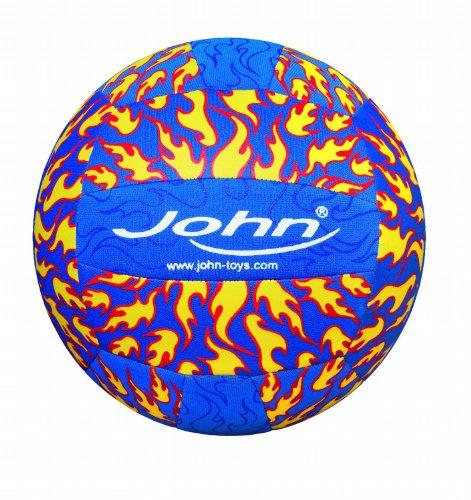 John GmbH Volleyball Neopren Fire, sortiert, 23 cm Durchmesser, 300 g, Größe 5