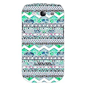 Jugaaduu Aztec Girly Tribal Back Cover Case For Samsung Galaxy S3 Neo