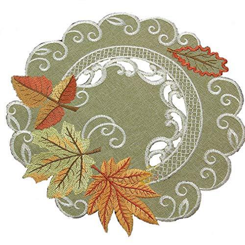 Herbst Blätter Tischläufer Bei Kostumehde
