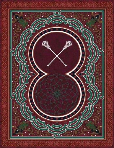 Monogram Lacrosse Sketchbook: Blank Art Pad Notebook Journal: Volume 60 (Monogram ArabesqueOne 150 Sketch) por N.D. Author Services