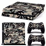 Camouflage pattern skin autocollant pour PS4 Playstation 4 Console 2 manettes Protector Skin