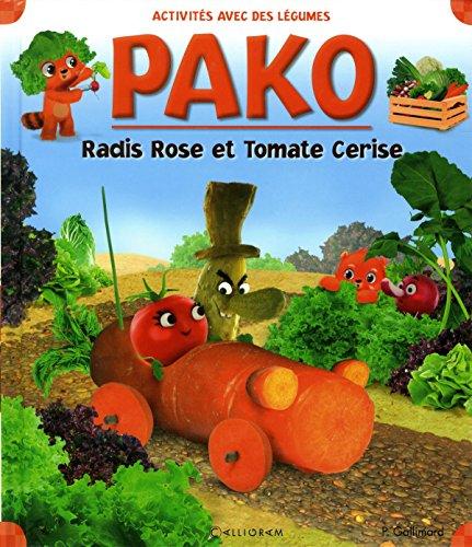 Radis rose et tomate cerise Rose Tomate