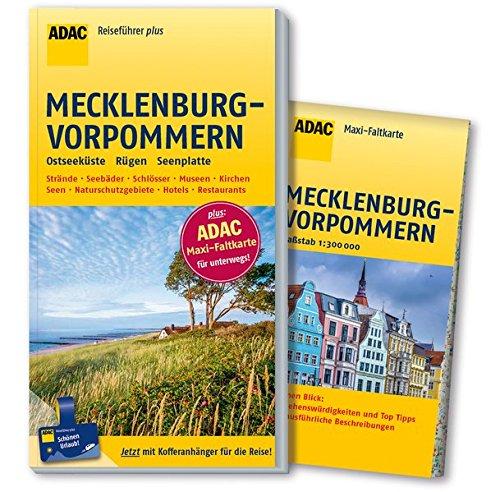 ADAC Reiseführer plus Mecklenburg-Vorpommern: mit Maxi-Faltkarte zum Herausnehmen