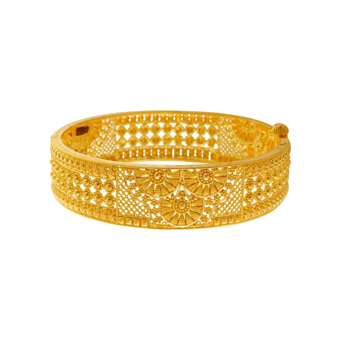 4bb866e5cb0b9 P.C. Chandra Jewellers 22KT Yellow Gold Bangle for Women