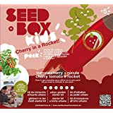Seed Box SBKCR - Huerto urbano de tomates cherry y rúcula (KIDS Cherry in a Rocket)