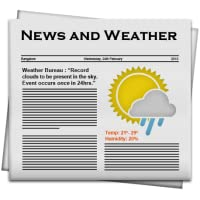 News & Weather
