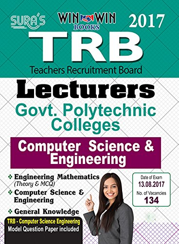TRB Lecturers ( Computer Science & Engineering ) Exam ( Govt Polytechnic Colleges ) Books 2017
